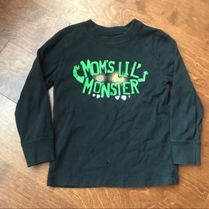 Halloween T-shirt longsleeve mommiea monster
